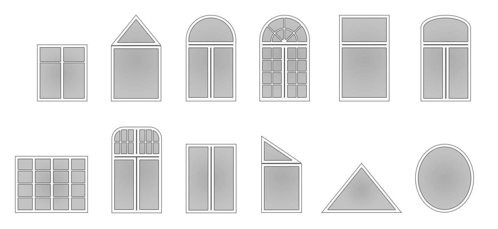 Moderne fensterformen  Fensterformen | ZB Fenster